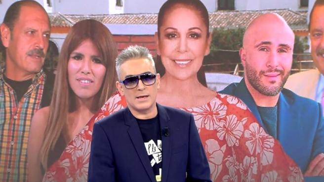 Kiko Hernández Sorprende En Sálvame Llevando Gafas De Sol A Causa De Un Problema En Los Ojos