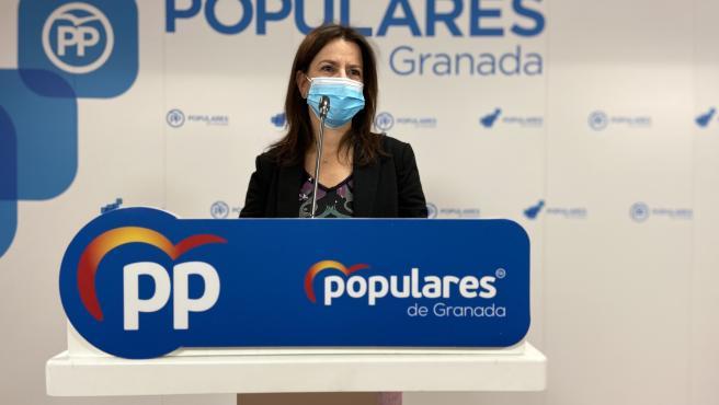 La portavoz del Partido Popular de Granada, Ana Vanessa García