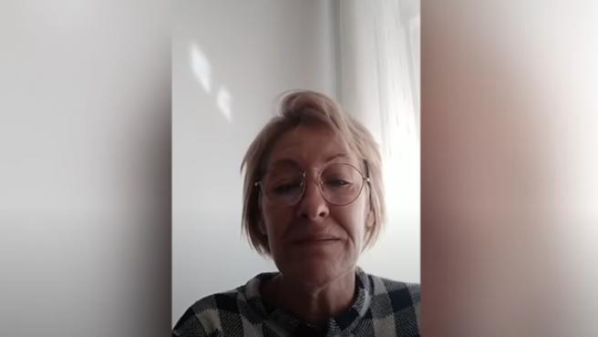 Marta González denuncia la muerte de su hijo en un vídeo.