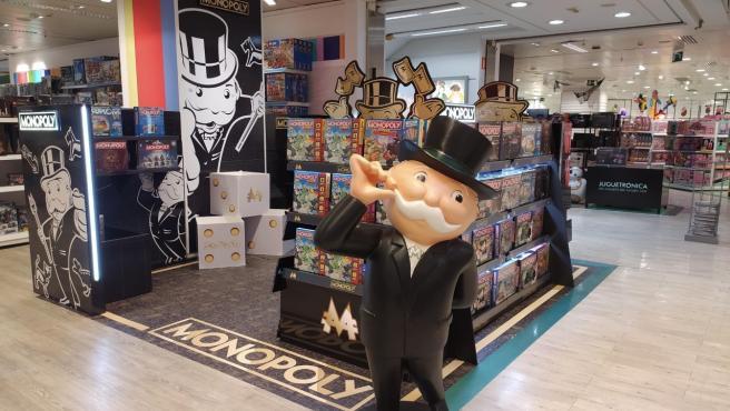 Pop Up de Monopoly en El Corte Inglés d'Avinguda de França
