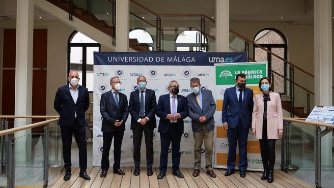 Presentación de la Cátedra de la Universidad de Málaga y FYM HeidelberCement para estudiar el cambio climático
