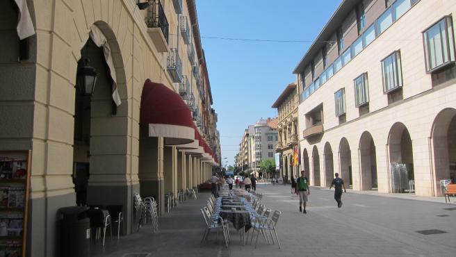Sede de la Diputación Provincial de Huesca.