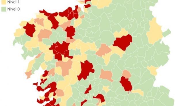 Imagen del mapa correspondiente al 5 de noviembre de 2020