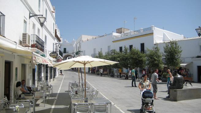 Plaza de España de Conil de la Frontera.