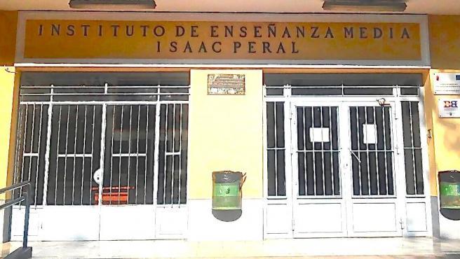 Imagen de archivo del instituto Isaac Peral en Cartagena.