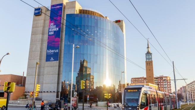 Sede de Hiberus en Zaragoza.