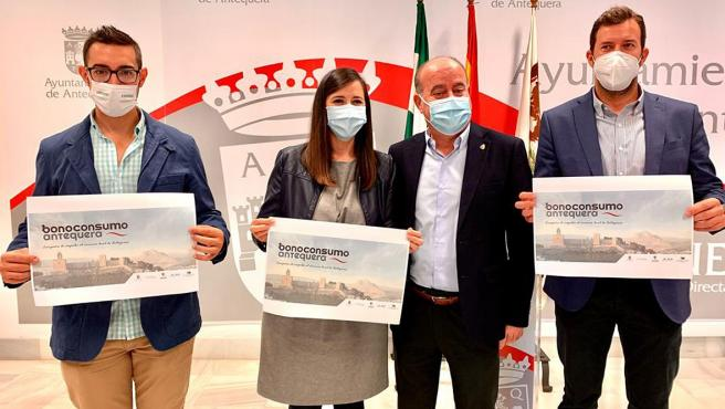 Campaña apoyará al comercio y hostelería de Antequera en Navidad