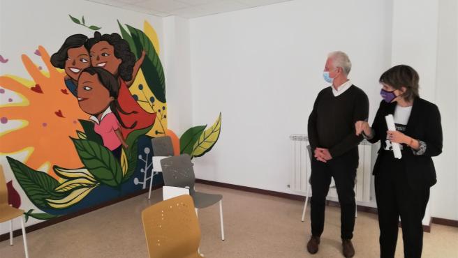 El alcalde de Logroño y la concejala de Igualdad inauguran el nuevo Laboratorio Feminista en la ciudad