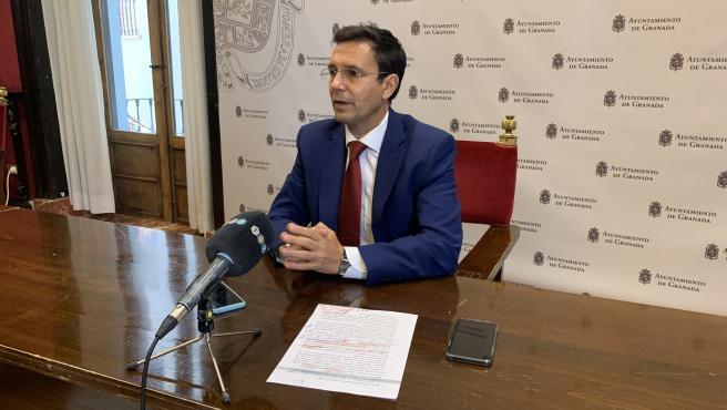 El portavoz del PSOE en el Ayuntamiento de Granada, Francisco Cuenca, en imagen de archivo