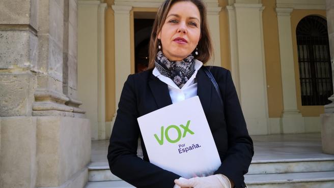 La portavoz de Vox, en el Ayuntamiento, en una imagen de archivo