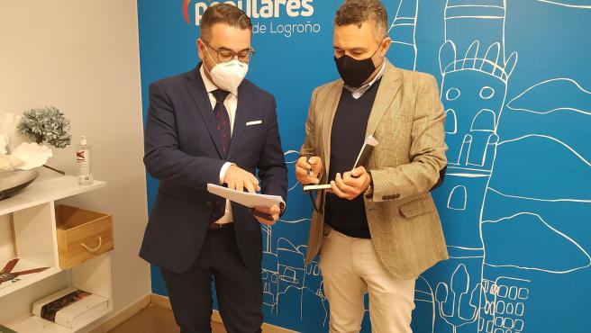 Lunes, 9 De Noviembre De 2020 El PP Denuncia Que Logroño 'Ha Desaparecido' De Los Presupuestos Estatales