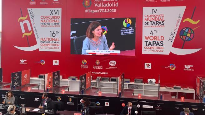 """Arranca la edición """"más extraña"""" de los concursos de Pinchos de Valladolid, con un mensaje de """"esperanza"""" al sector"""