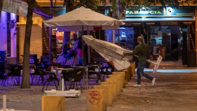 Cierre de bares en Sevilla