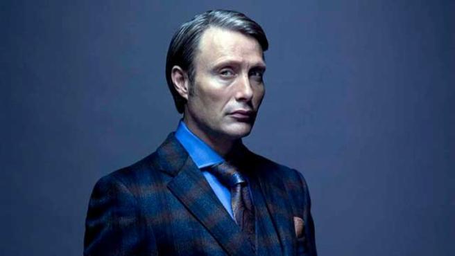 El actor Mads Mikkelsen en la serie 'Hannibal'.