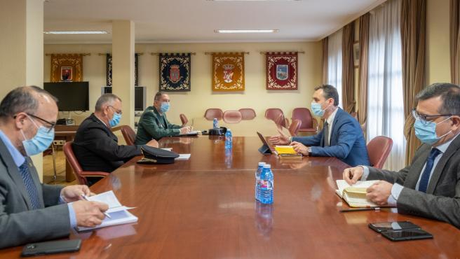 Reunión con los mandos regionales de las Fuerzas y Cuerpos de Seguridad del Estado