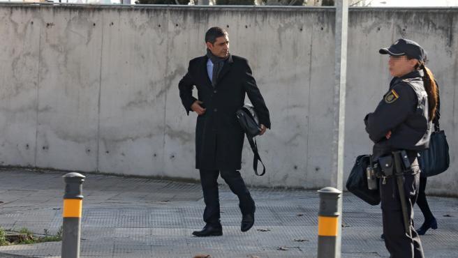 El mayor de los Mossos d'Esquadra, Josep Lluís Trapero, el 3 de febrero de 2020.
