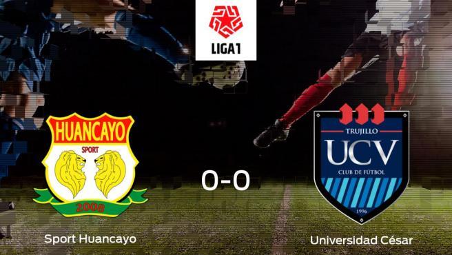 Sport Huancayo Universidad Cesar Vallejo Resultado Resumen Y Goles En Directo Del Partido De Futbol De La Liga 1 De Peru