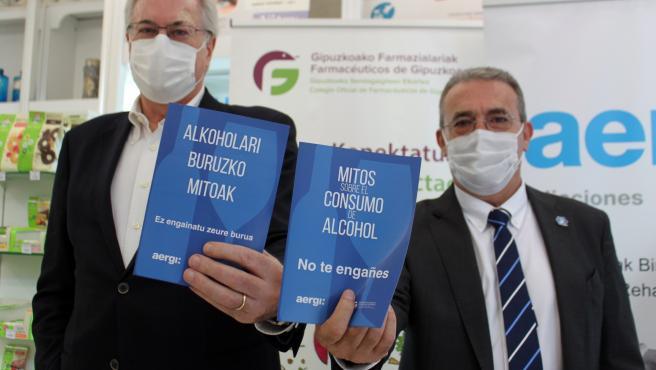 Josean Fernández (AERGI) y Miguel Angel Gastelurrutia (COFG)