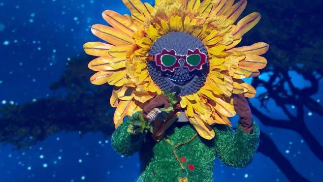 Imagen del Girasol durante su actuación en 'Mask Singer'.