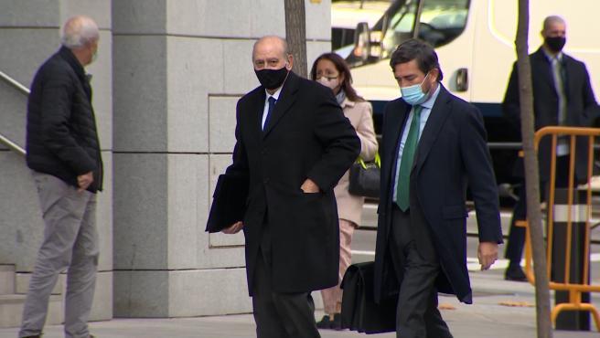Fernández Díaz y Francisco Martínez llegan a la Audiencia Nacional