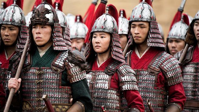 Liu Yifei en 'Mulan'