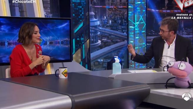Tamara Falcó en el programa 'El Hormiguero'.
