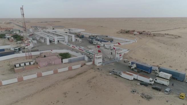 Se retoma el tráfico de camiones entre el Sáhara Occidental y Mauritania