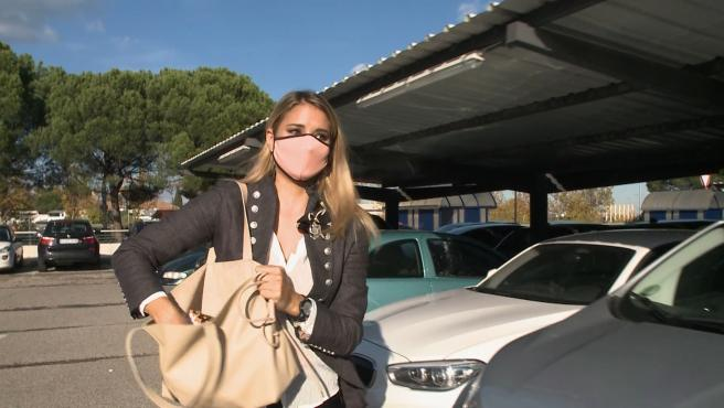 Alba Carrillo se despide de su perro Lunes