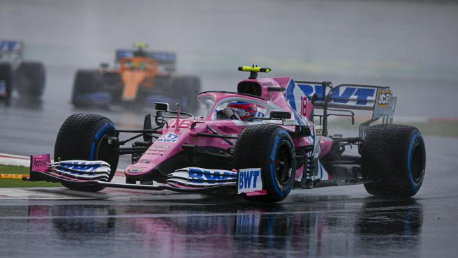 Lance Stroll, en el GP de Turquía