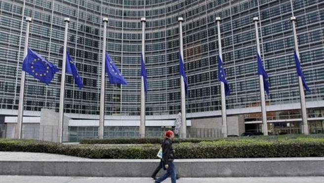 Parlamento Europeo, en Bruselas.