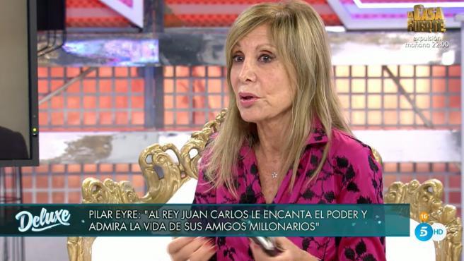 Pilar Eyre, en 'Sábado Deluxe'.