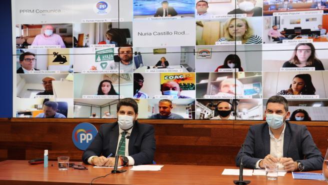 Np. El Pp Llama A La Unidad De Los Partidos Para Que En Los Pge Se Apruebe La Enmienda Para Obtener Beneficios Fiscales Del 35 Por Ciento Por Invertir En El Mar Menor