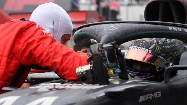 Vettel y Hamilton, en el GP de Turquía