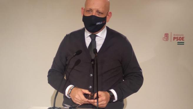 El parlamentario andaluz del PSOE Gerardo Sánchez