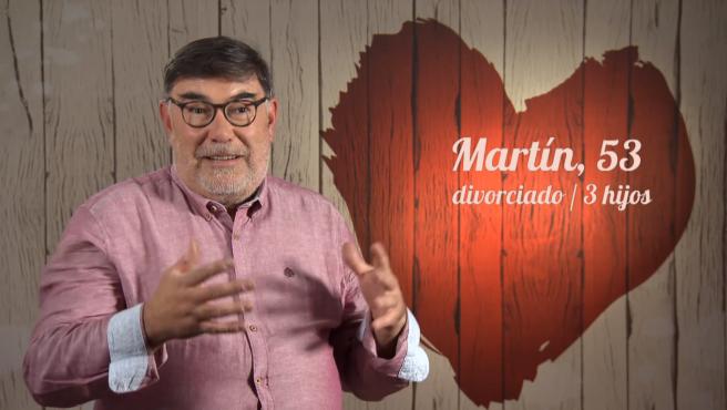 Martín, en 'First dates'.