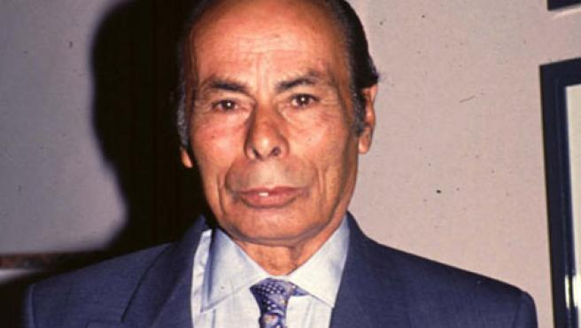 Antonio Rivera, padre de Paquirri, en la finca El Robledo.