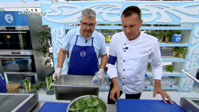 """Flo, rebautizado como """"Flor"""" por el chef Oriol Castro en 'MasterChef Celebrity'."""