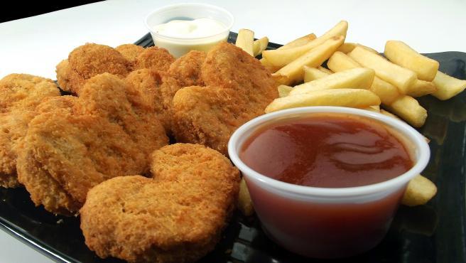 Imagen de archivo de unos 'nuggets' de pollo.