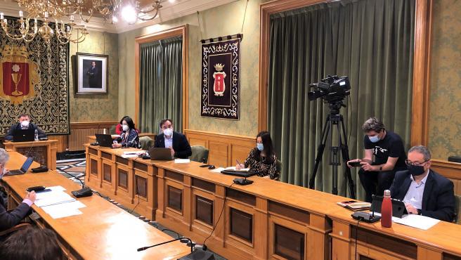 Pleno del Ayuntamiento de Cuenca.