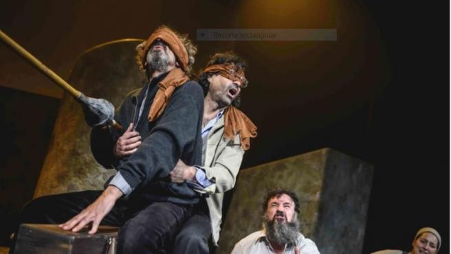 Un momento de la obra Don Quijote somos todos.