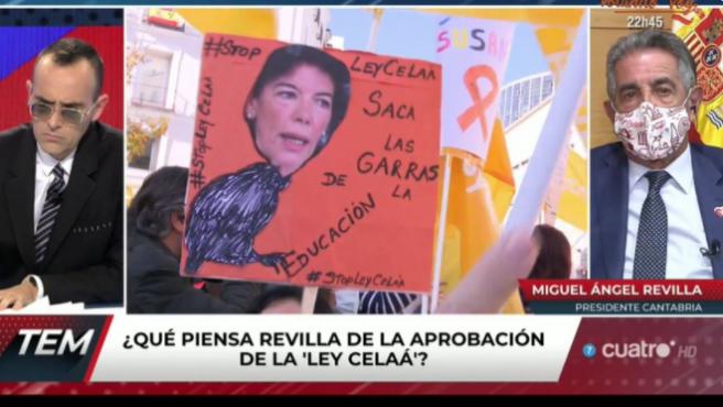 Miguel Ángel Revilla interviene en el programa 'Todo es mentira'.