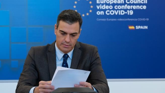 Pedro Sánchez, tras la cumbre de la UE.