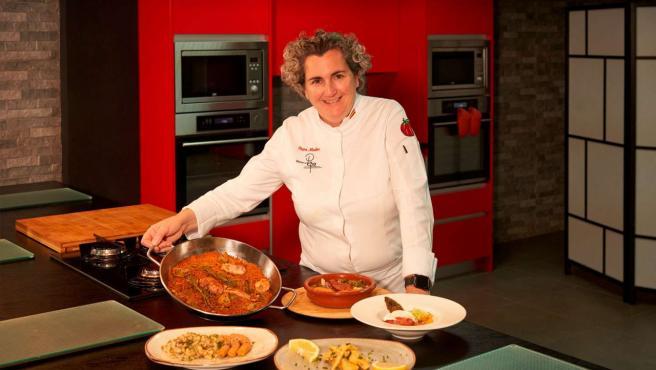 Pepa Muñoz recrea para las personas con diabetes 5 platos muy típicos.