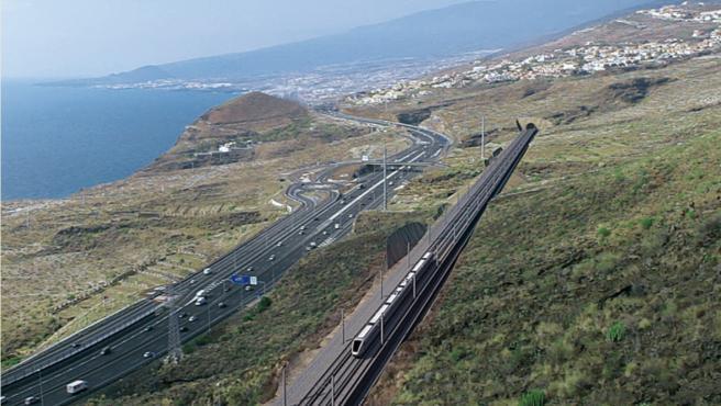 CC pide un proceso participativo sobre el futuro del tren del sur de Tenerife