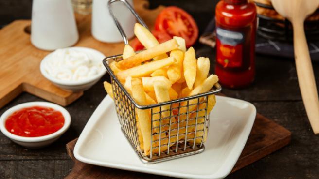 Las patatas fritas son un capricho que puede disfrutarse en su versión 'healthy'.
