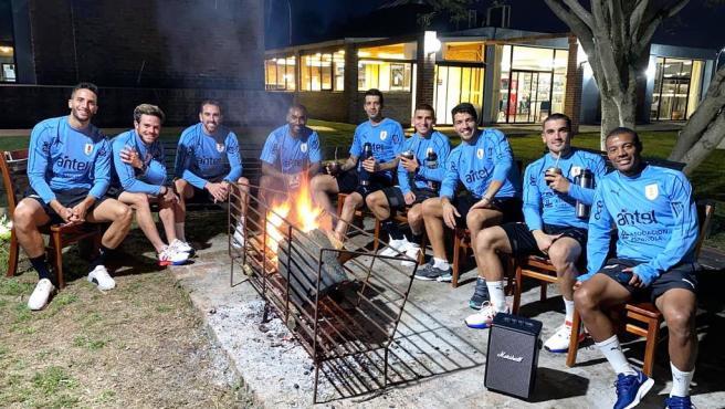 Jugdores de Uruguay