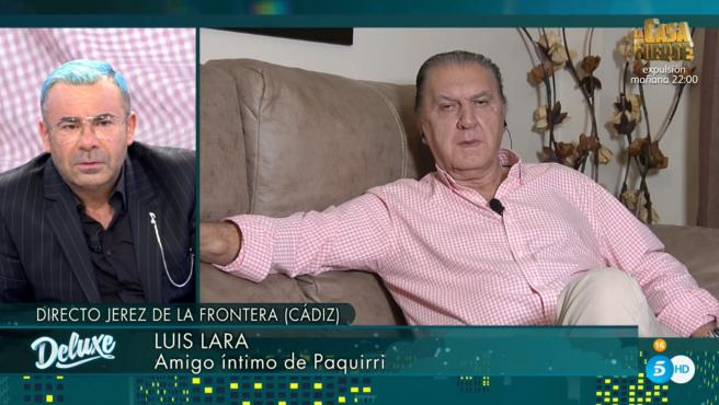 Jorge Javier Vázquez y Luis Lara, en 'Sábado Deluxe'.