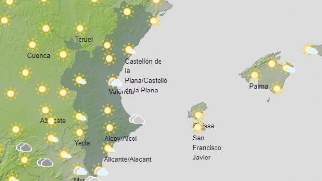 Predicción del tiempo para este sábado, 21 de noviembre