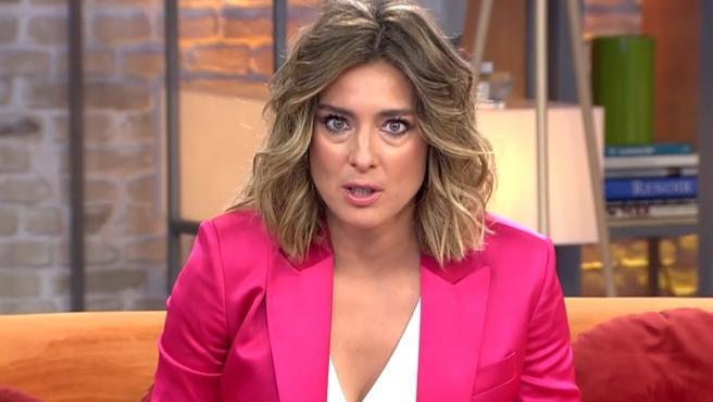 La presentadora Sandra Barneda, en su primer programa al frente de 'Viva la vida'.