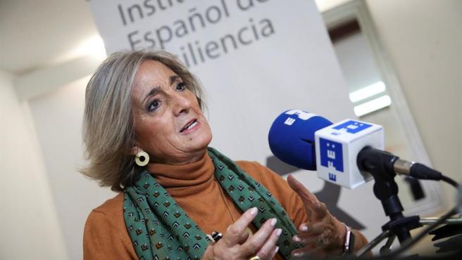 Rafaela Santos, neuropsiquiatra, durante una entrevista.